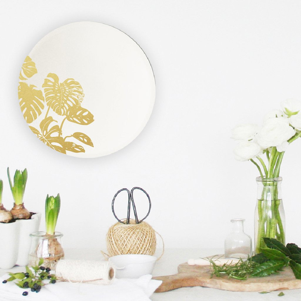 Mirror of Wonders - Monstera (20 cm) - A Luz Natural