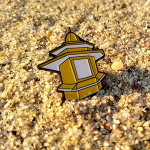 "Enamel Pin #1 ""Quiosque"" - A Luz Natural"