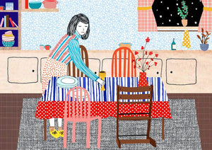 Manon de Jong | Print Setting the table (A4) - A Luz Natural