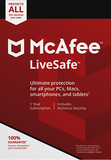 McAfee LiveSafe Antivirus 2018 Unlimited Devices