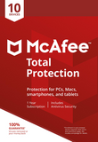 McAfee Total Protection Antivirus 2018 10 Devices