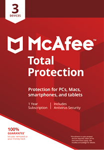 McAfee Total Protection Antivirus 2018 Antivirus 5 Devices