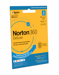 NEW - Norton 360 DELUXE 2019 3 Devices 6 Month Subscription