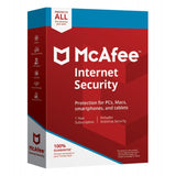McAfee Internet Security All Unlimited Devices 1 Year