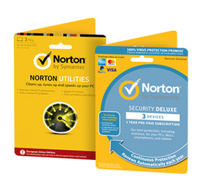 Norton Security Deluxe + Norton Utilities Tune-Up Bundle