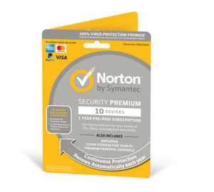 Norton Security PREMIUM  10 Devices