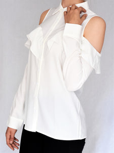Open shoulder statement shirt