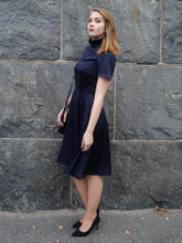 Elizabeth ruffle collar dress