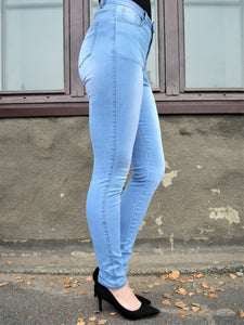 "Skinny jeans ""Light blue"""