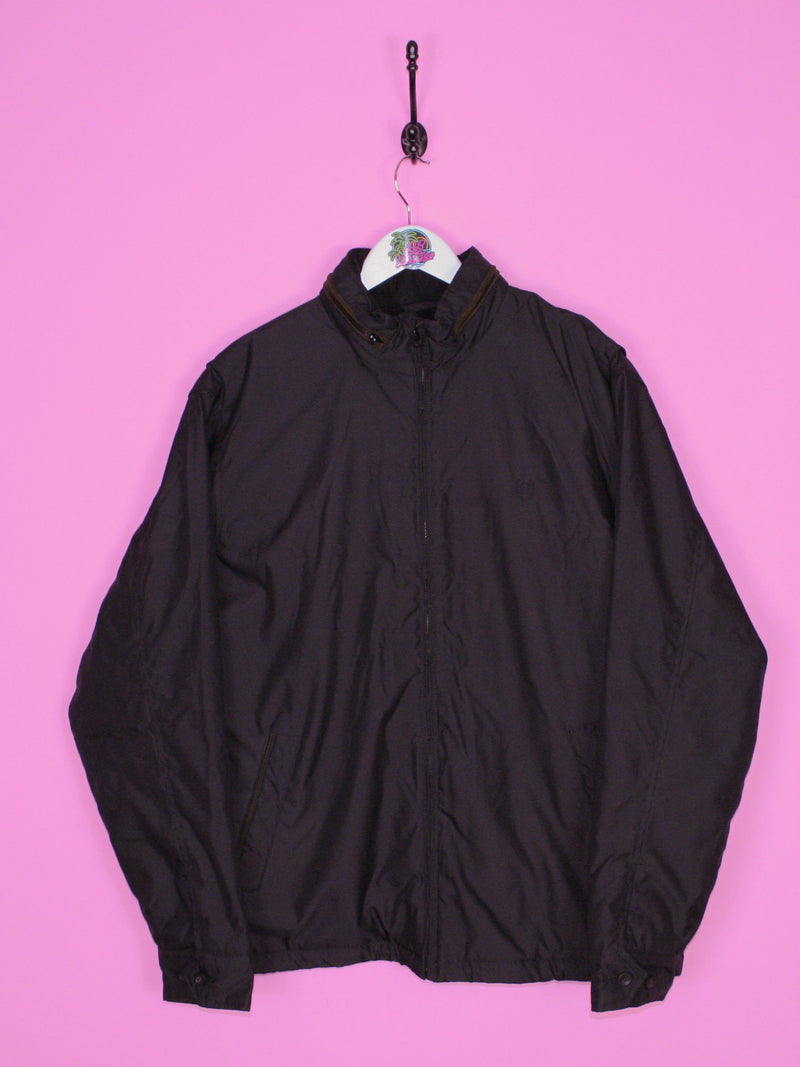 Chaps Black Sailing Jacket L - BB Vintage Clothing