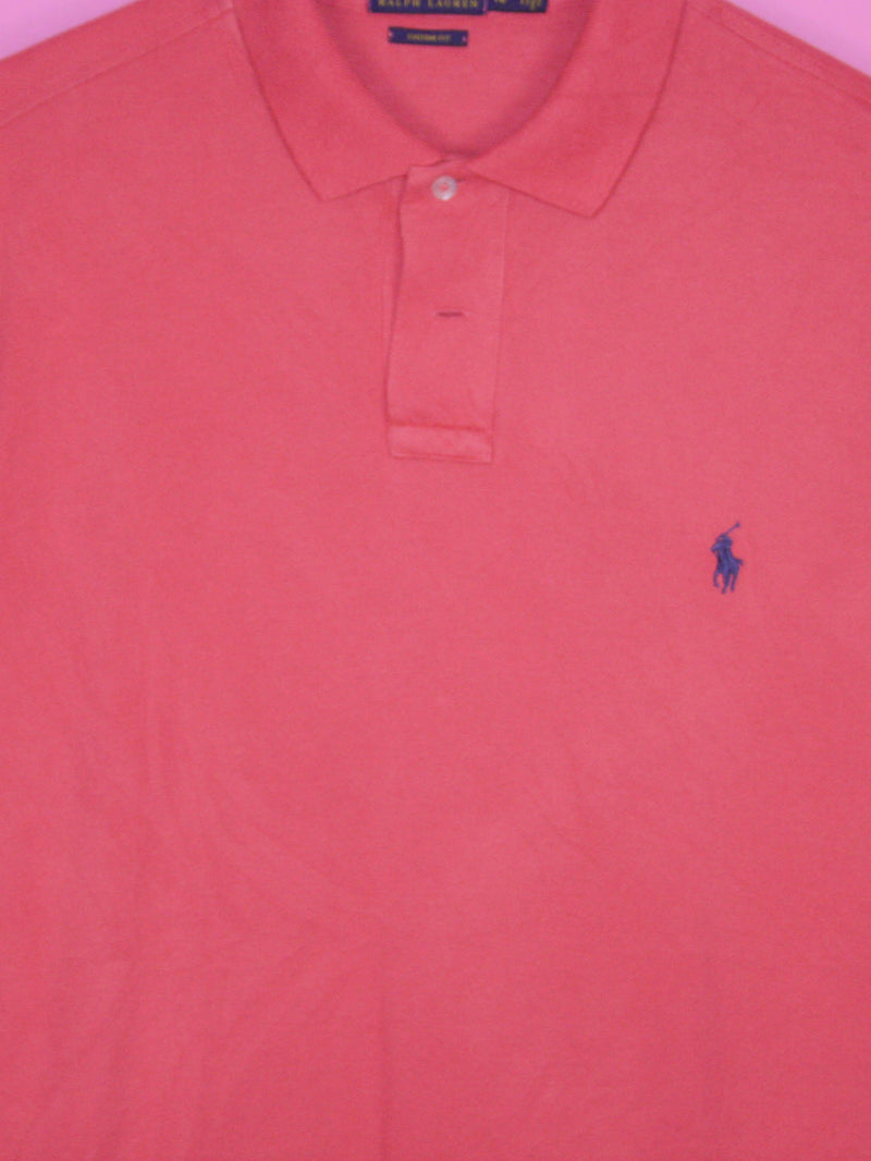 Red Ralph Lauren Polo Shirt L - BB Vintage Clothing