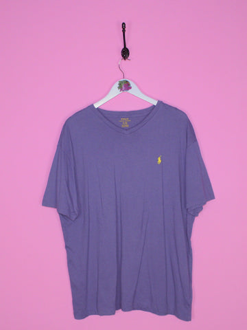 Blue Ralph Lauren T Shirt L - BB Vintage Clothing