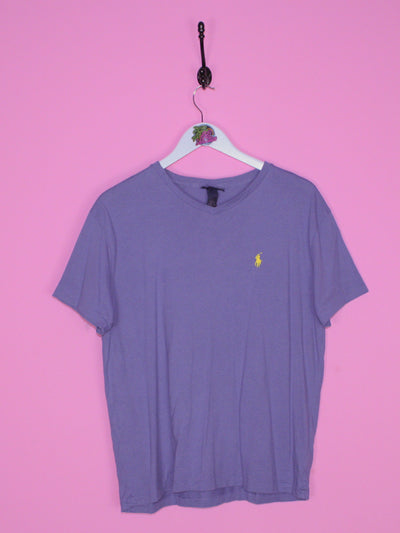 Blue Ralph Lauren T Shirt S - BB Vintage Clothing