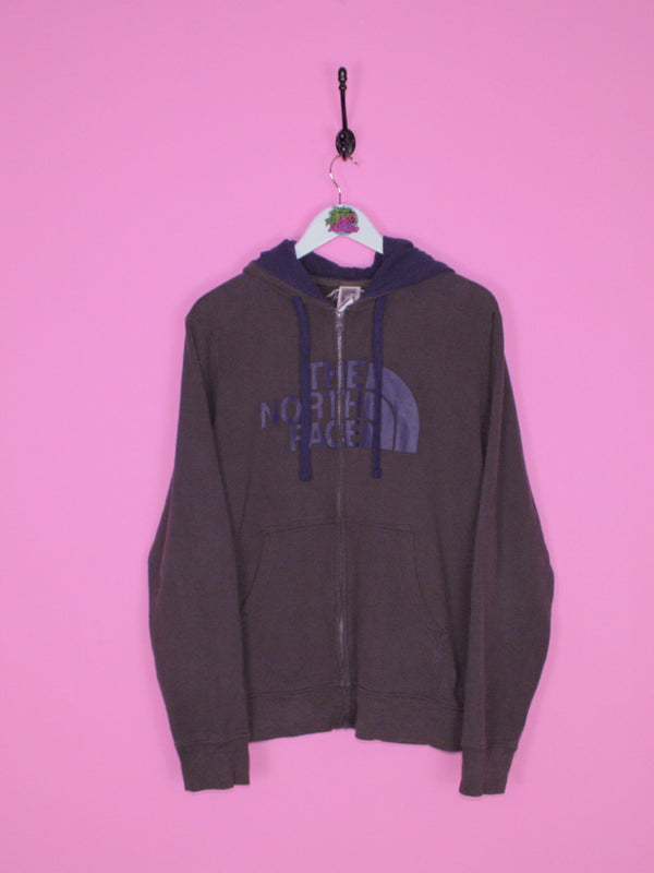 Dark Grey The North Face Hoodie S - BB Vintage Clothing