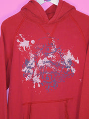 Red Ralph Lauren Hoodie M - BB Vintage Clothing