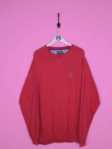 Red Chaps Sweatshirt XL - BB Vintage Clothing