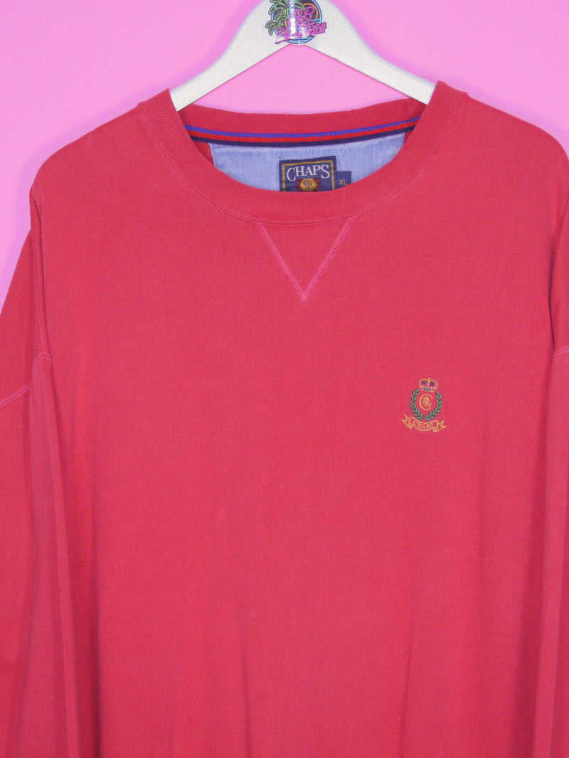Red Chaps Sweatshirt XL DON'T RESTOCK. - BB Vintage Clothing