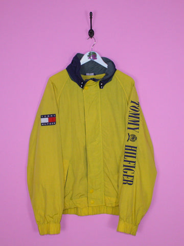 Yellow Tommy Hilfiger Spell Out Jacket XL