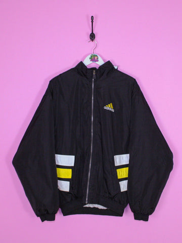 Black Adidas Padded Jacket M