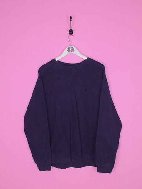 Navy Blue Starter Sweatshirt L - BB Vintage Clothing