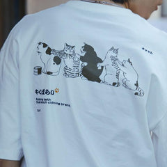 """Bathing Cats"" T Shirt"