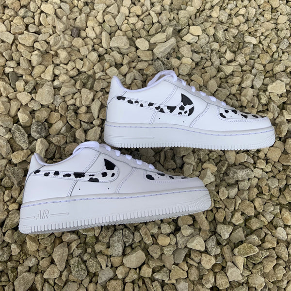 "Custom Nike Air Force 1 ""Cow Print"""