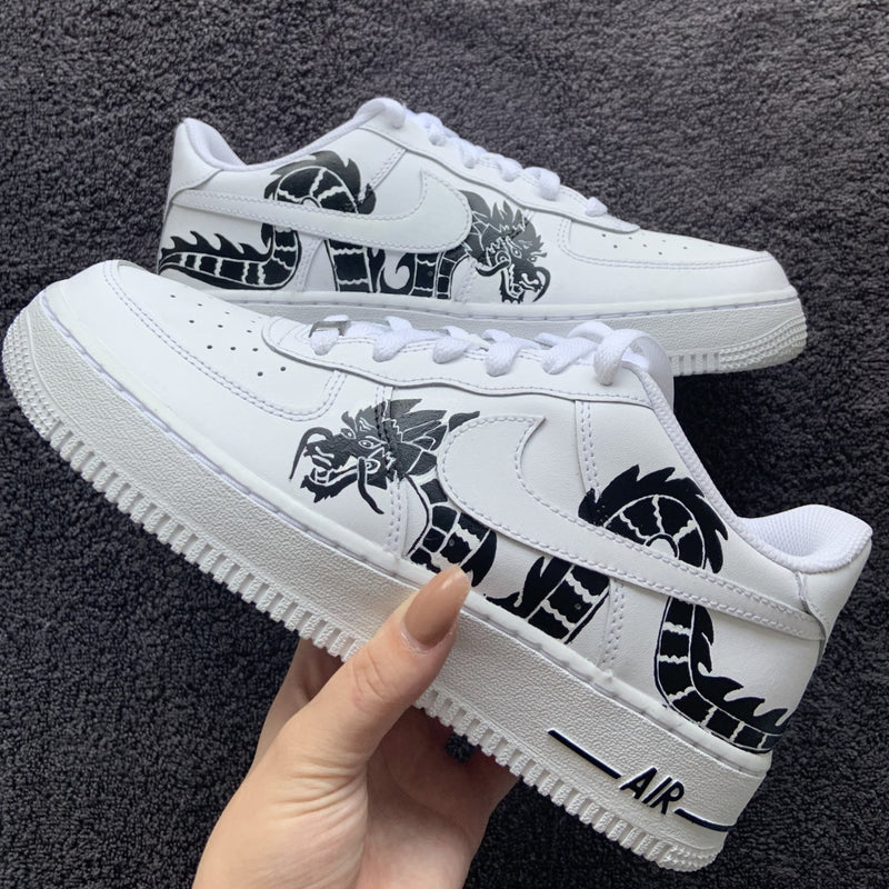 "Custom Nike Air Force 1 ""Dragon"""
