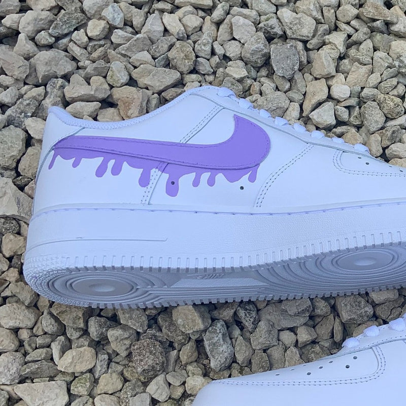 "Custom Nike Air Force 1 ""Drip"""