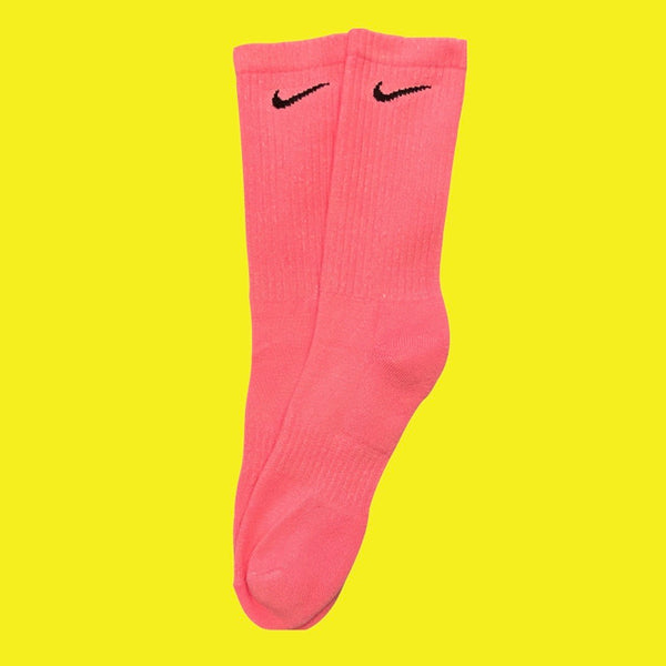 Nike Socks Block Dye Candy Pink - BB Vintage Clothing