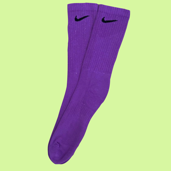 Nike Socks Block Dye Purple