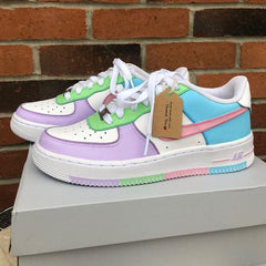 "Custom Nike Air Force 1 ""Summer Dream"""