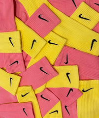 Nike Socks Block Dye Candy Pink