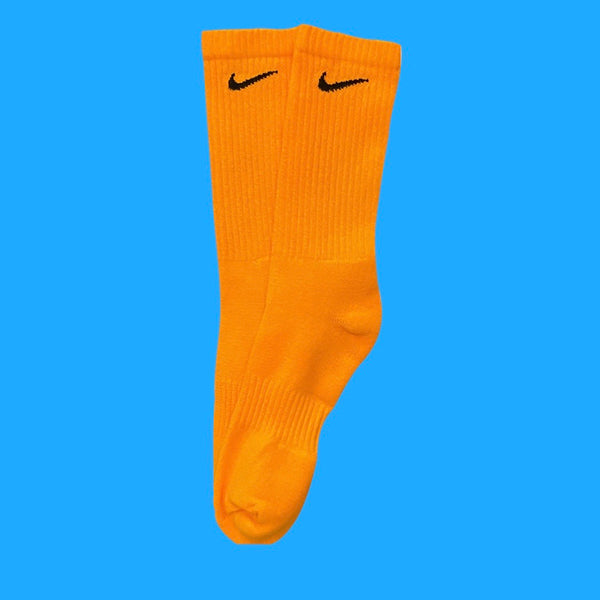 Nike Socks Block Dye Orange
