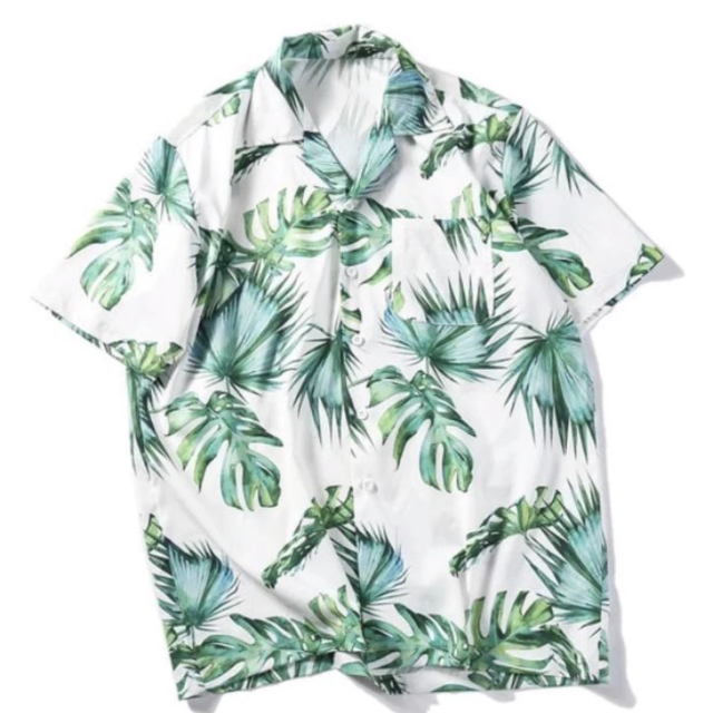 """Palm Tree"" Shirt Large - BB Vintage Clothing"