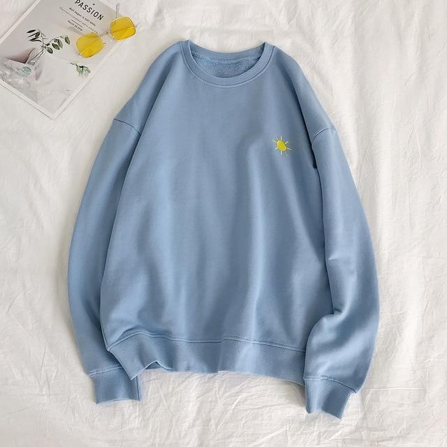 "Blue ""The Elements"" Sweatshirt L"