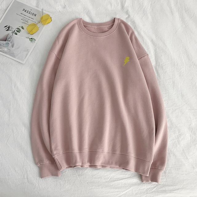 "Pink ""The Elements"" Sweatshirt S"