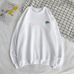 "White ""The Elements"" Sweatshirt XS"