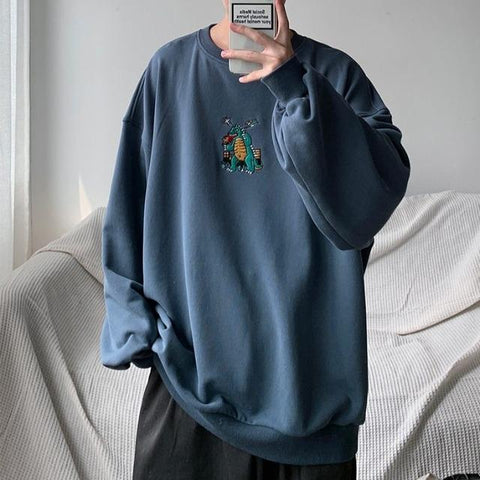 "Blue ""Dinosaur"" Sweatshirt (Various Sizes)"