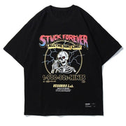 "Black ""Stuck Forever"" T Shirt S"