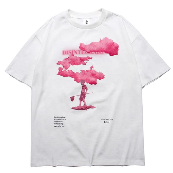 """Pink Cloud"" T Shirt"
