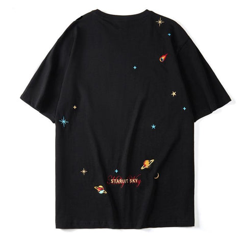 """Planets & Stars"" T Shirt - BB Vintage Clothing"
