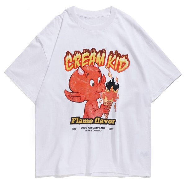 """Cream Kid"" T Shirt"