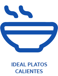 Ideal platos calientes