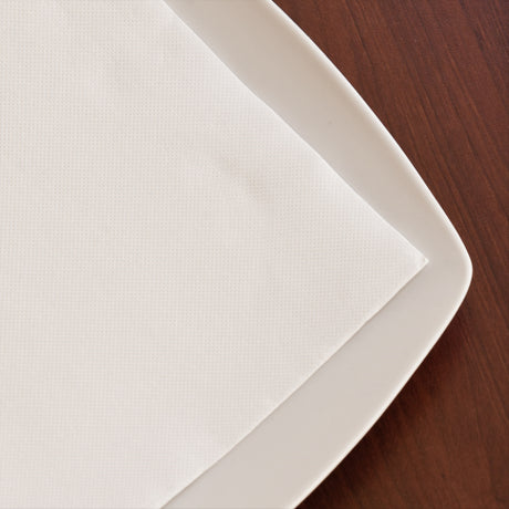 "138.12 SERVILLETAS ECOLABEL ""DOUBLE POINT"" 18 G/M2 20x20 CM BLANCO TISSUE (2400 UNID.)"