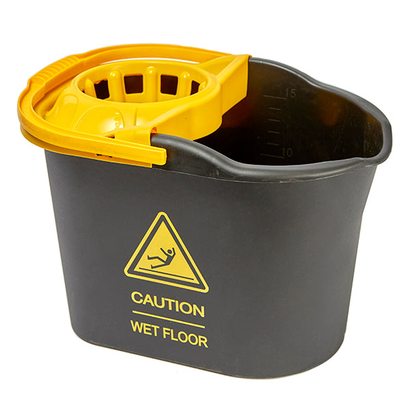 CUBO + ESCURRIDOR CAUTION NG 15L