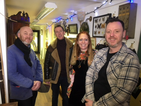 Salvage Hunters came to our Sawbridgeworth Headquarters!