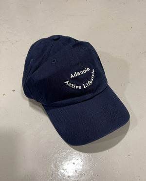 Adanola Active Lifestyle Cap -  Navy/White