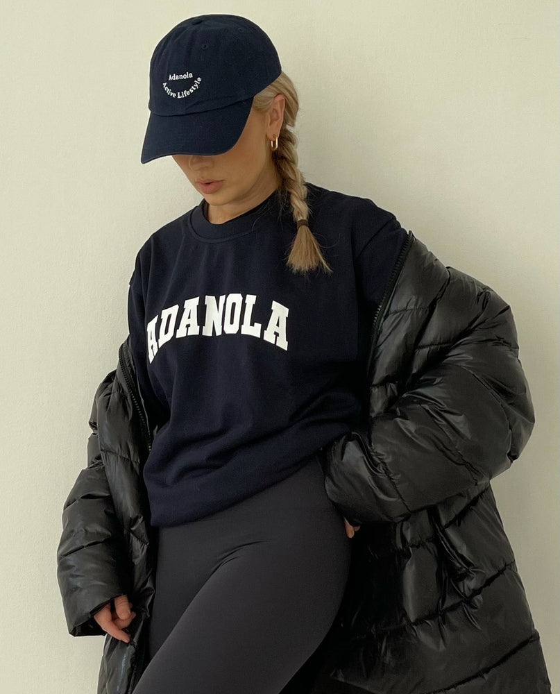 Load image into Gallery viewer, Adanola Active Lifestyle Cap -  Navy/White