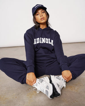 Load image into Gallery viewer, Adanola Essential Hoodie - Navy
