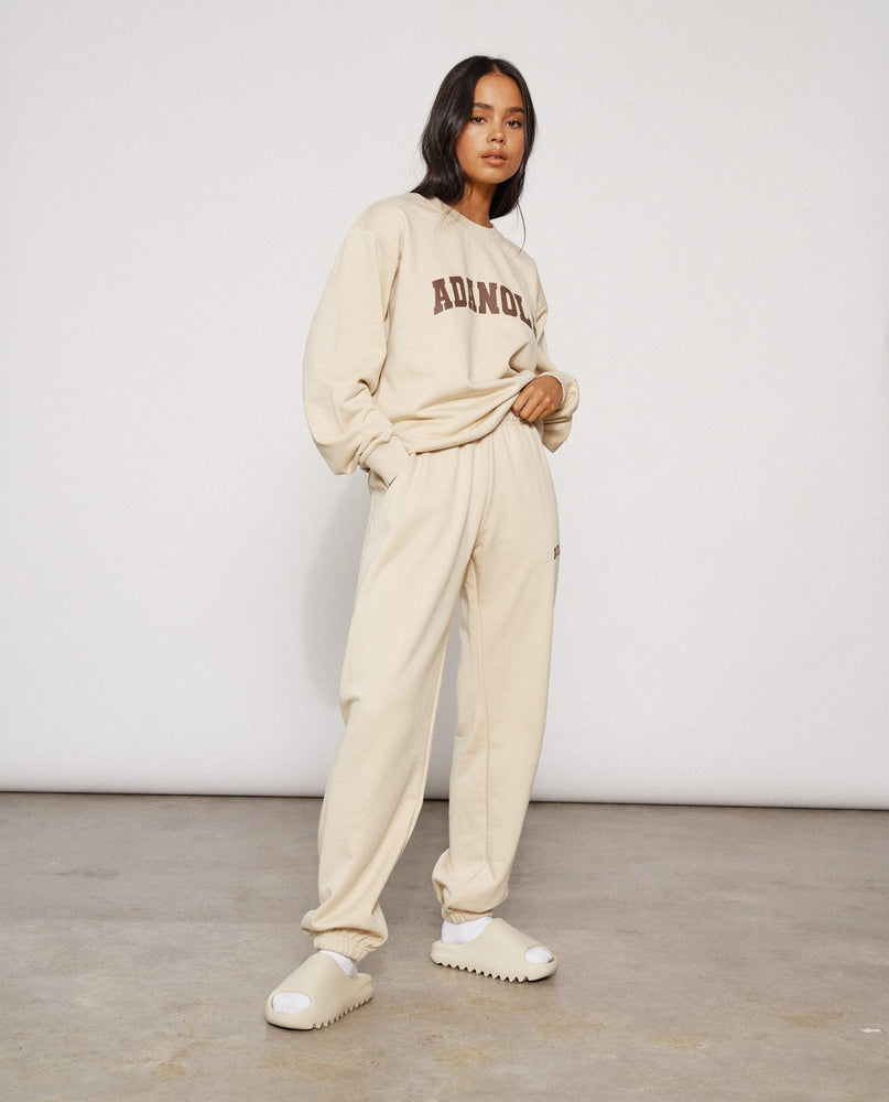 Adanola Essential Sweatpants - Biscuit